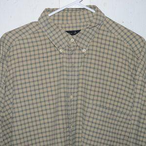 Eddie bauer button up mens shirt size XXXL J687